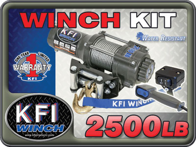 2500lb Winch