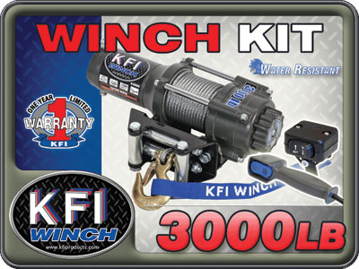 3000lb Winch