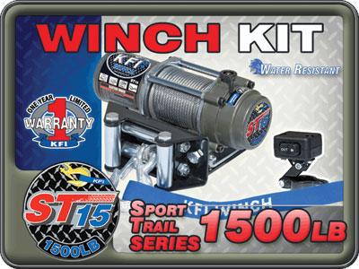 1500lb Winch