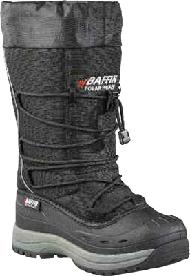 BAFFIN SNOGOOSE WOMENS BOOTS BLACK SZ 10 Aftermarket Part
