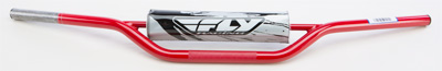 FLY RACING 1010 CARBON STEEL HANDLEBAR KX RM (RED) Aftermarket Part