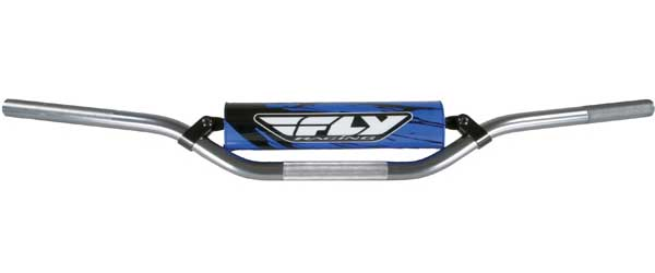 FLY RACING 6061 T-6 ALUMINUM HANDLEBAR MI NI (GUNMETAL) Aftermarket Part