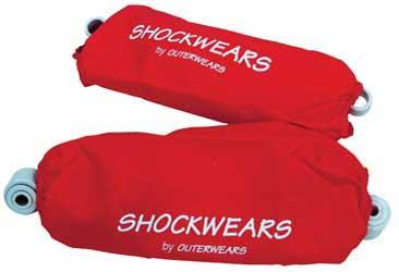 Outerwears (30-1007-02) Shockwears Cover Rear 250R Raptor 700