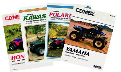 Clymer (M4866) Manual Yamaha YFZ350 Banshee