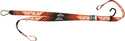 FLY RACING TIE DOWNS 1.5X72 SOFT (ORANGE) Aftermarket Part