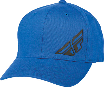 FLY RACING F-WING HAT BLUE S-M Aftermarket Part