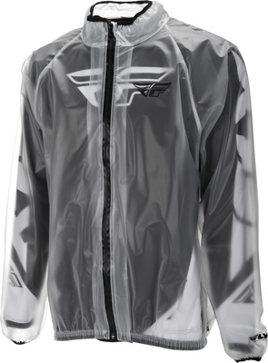 FLY RACING RAIN JACKET CLEAR X Aftermarket Part