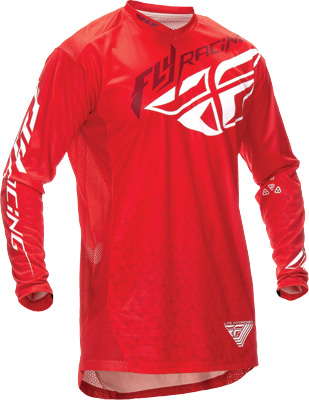 FLY RACING LITE HYDROGEN JERSEY RED S Aftermarket Part