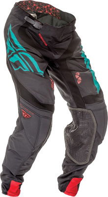FLY RACING LITE HYDROGEN PANT BLACK TEAL SZ 34 Aftermarket Part