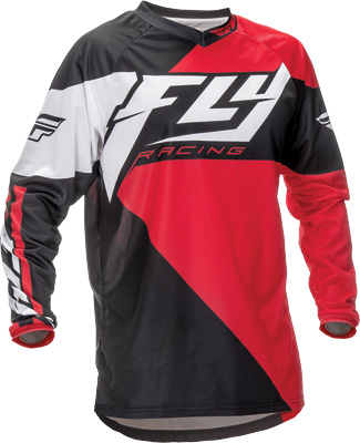FLY RACING F-16 JERSEY RED BLACK M Aftermarket Part