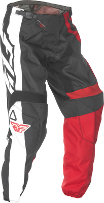 FLY RACING F-16 PANT RED BLACK SZ 18 Aftermarket Part