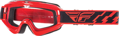 Fly Racing Focus Goggles Adult Off Road Dirt Bike Motocross Red