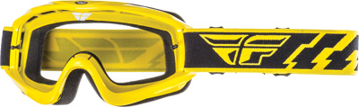 Fly Racing Focus Goggles Adult Off Road Dirt Bike Motocross Yellow