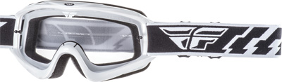 Fly Racing Focus Goggles Adult Off Road Dirt Bike Motocross White