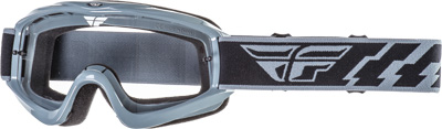 Fly Racing Focus Goggles Adult Off Road Dirt Bike Motocross Grey
