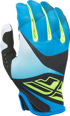 FLY RACING LITE GLOVE BLUE BLACK HI-VIS SZ 9 M Aftermarket Part
