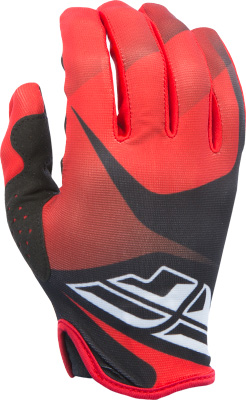 FLY RACING LITE GLOVE RED BLACK WHITE SZ 7 XS Aftermarket Part