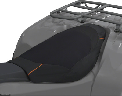 DELUXE SEAT COVER (BLACK)