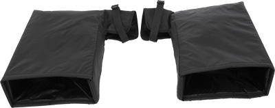 COLD WEATHER HANDLEBAR GAUNTLETS (BLACK)