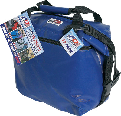 24 PACK VINYL COOLER ROYAL BLUE 17 X10 X12