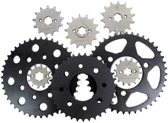 JT REAR STEEL SPROCKET 42T Aftermarket Part