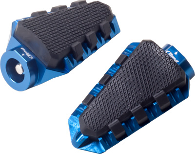 PUIG FOOTPEGS OFF ROAD BLUE Aftermarket Part