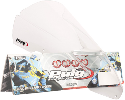 PUIG RACING SCREEN CLEAR TUONO 1000R Aftermarket Part