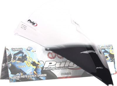 PUIG RACING WINDSCREEN CLEAR RSV4 Aftermarket Part