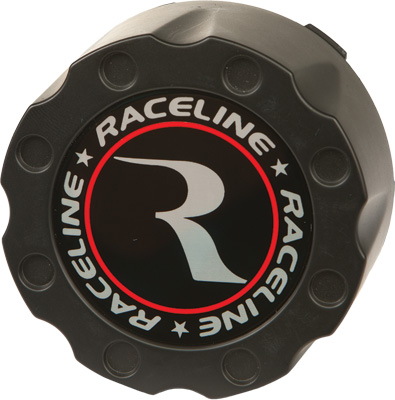 RACELINE CENTER CAP - BLACK 14  BEADLOCK 4/137   156 ONLY