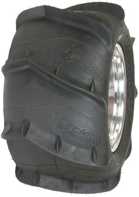 TIRE CYCLONE 20X11-8 LEFT REARSAND PADDLE