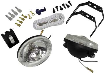 CLOSEOUT ATV LIGHT KIT LENS ONLY Aftermarket Part