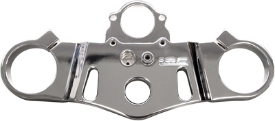 YANA SHIKITOP CLAMP LRC POLISHED HON CBR1000RR 04 07 Aftermarket Part