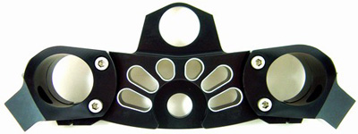 YANA SHIKITOP CLAMP BLACK KAW ZX14 06 11 Aftermarket Part