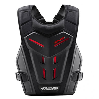 EVS REVO 4 ROOST GUARD GREY RED ADULT Aftermarket Part