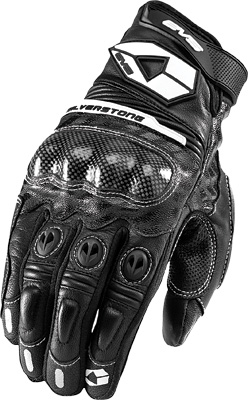 EVS SILVERSTONE LEATHER GLOVES BLACK 2X Aftermarket Part