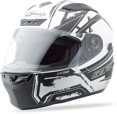 GMAX FF88 FULL FACE X-STAR HELMET FLAT WHITE S Aftermarket Part