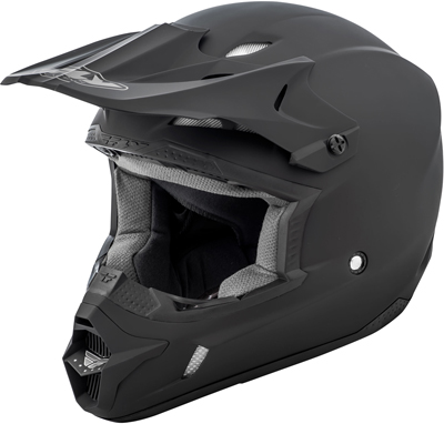 FLY RACING KINETIC HELMET MATTE BLACK L Aftermarket Part