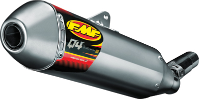 FMF Q4 S A MUFFLER HEX HON CRF250R '11-12 Aftermarket Part