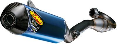 FMF FACTORY 4.1 ANOD W TI MEGA BOMB HDR  R.CAR CAP RMZ250'13 Aftermarket Part