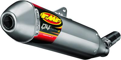 FMF Q4 S A MUFFLER HEX YAM YZ250F '10-12 Aftermarket Part
