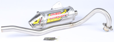 Pro Circuit T-4 Full Exhaust Honda CRF50F, XR50R 2000-2017 4H00050