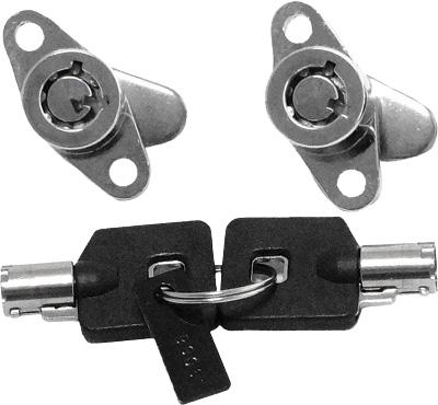 Harddrive Saddlebag Lock Kit W/Key 370961