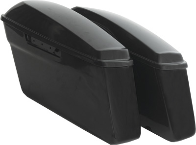 Harddrive Abs Saddlebags W/Lids Standard CFP-HL1584-001P