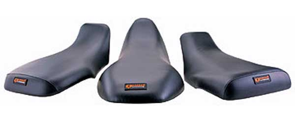 Quad Works (30-47007-01) Seat Cover-Yam Standard Black YFM700 Grizzly 2007-2008