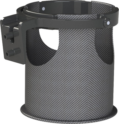 Hardbagger Fairing Drink Holder for LOCK&DOCK Fairing Door 11420