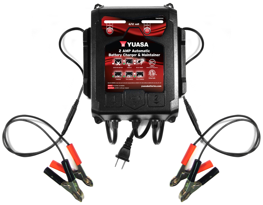 YUASA 2 BANK BATTERY CHARGER Aftermarket Part