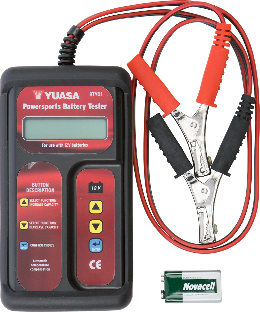 YUASA BATTERY TESTER Aftermarket Part