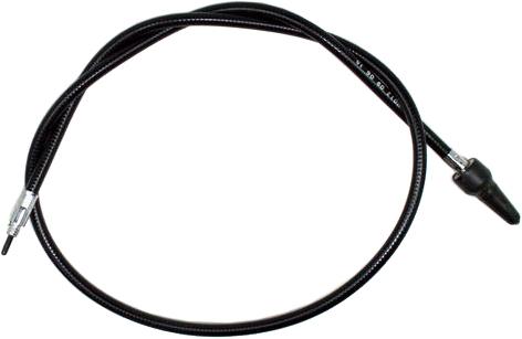 black vinyl speedo cable harley h