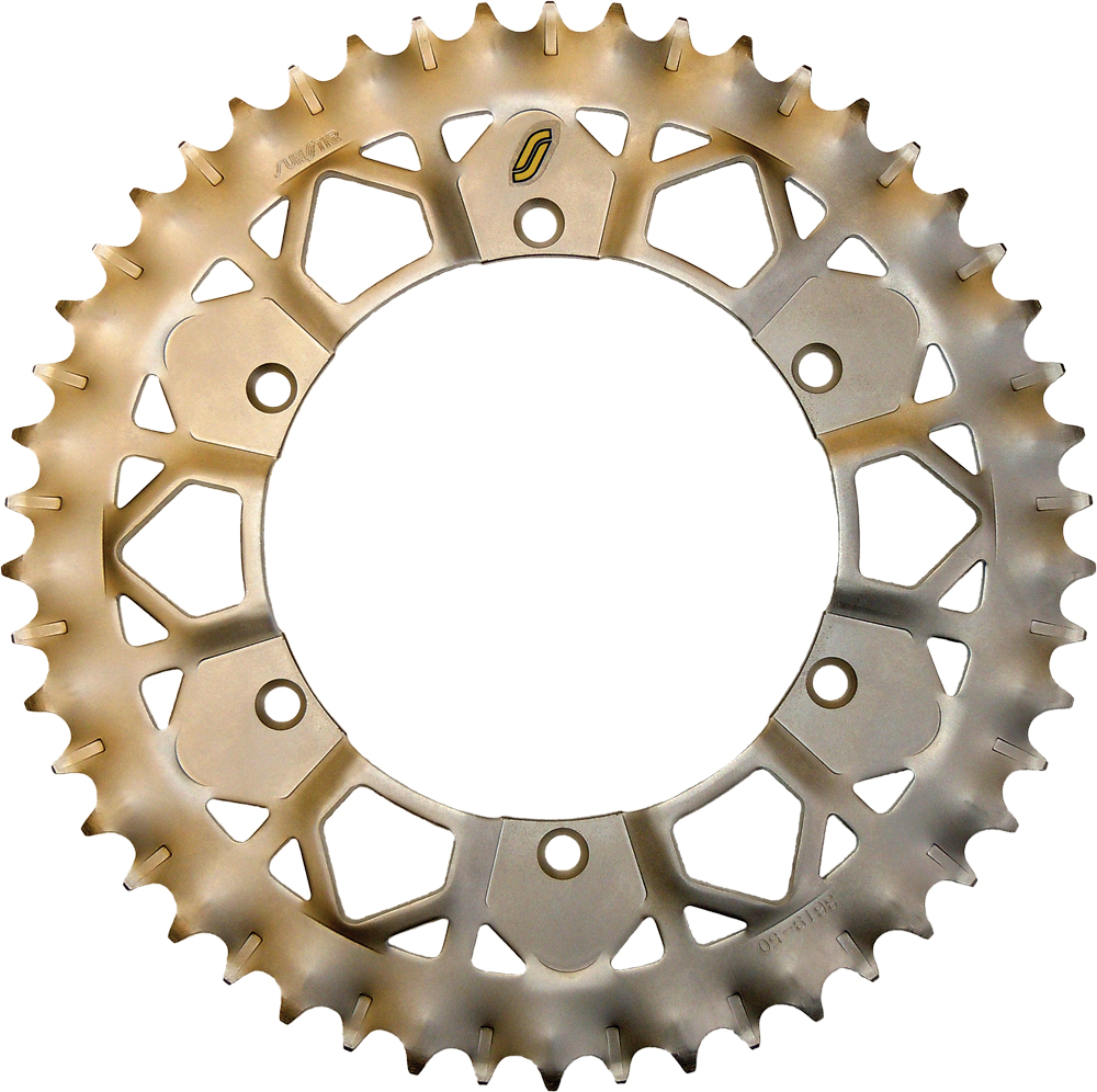 Sunstar Works Z Rear Sprocket - Matte Silver - 50T 8-359250E