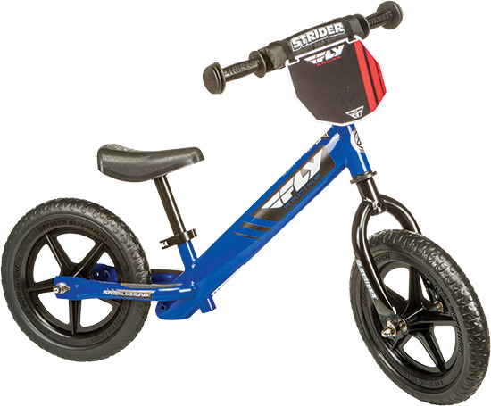 Strider™ balance bikes are industry-leading training bikes that help children as young as 18 m